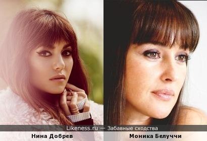 Нина Добрев vs Моника Беллуччи