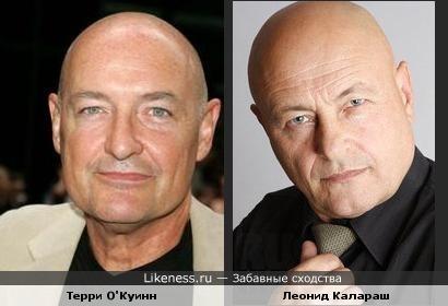 Актер-статист Леонид Калараш чем-то напомнил Терри О'Куинна