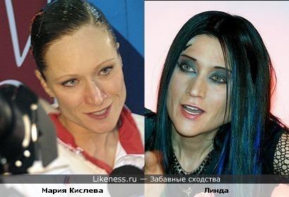 НЛинда и Мария Киселева похожи