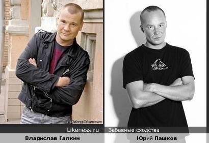 Юрий Пашков похож на Влада Галкина