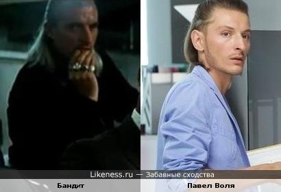 """Бандит из фильма """"Тёмный рыцарь"""" похож на Павла Волю"""