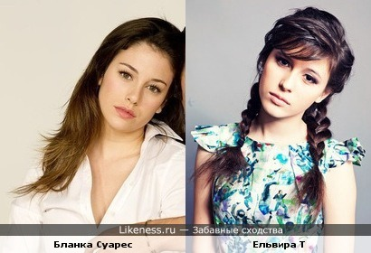 Молодая певица похожа на звезду испанских сериалов
