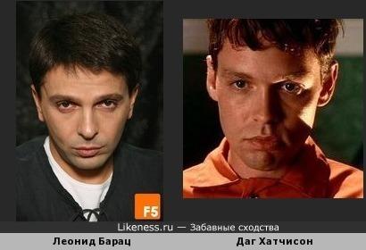 Леонид Барац и Даг Хатчисон чем-то схожи...