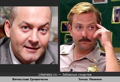 Вячеслав Гришечкин похож на Томаса Леннона