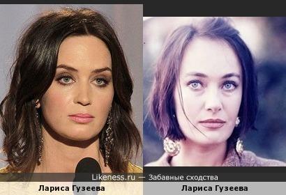 Эмили Блант похожа на Ларису Гузееву