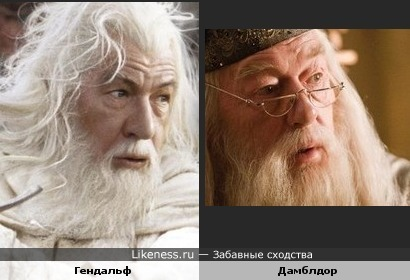 Гендальф и Дамблдор