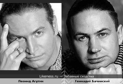 Геннадий Бачинский был похож на Леонида Агутина