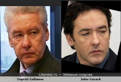 Сергей Собянин и John Cusack