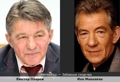 Политик и актёр вроде как похожи.