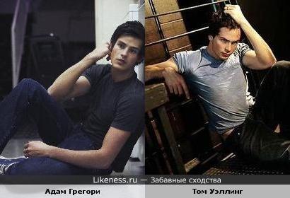 Адам Грегори похож на Тома Уэллинга