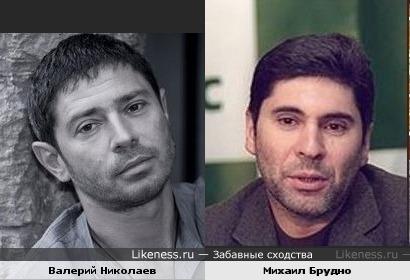 Бывший топ-менеджер «Юкоса» Михаил Брудно и Валерий Николаев