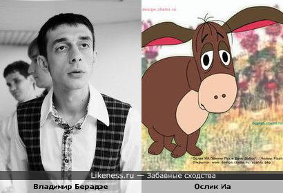 Владимир Берадзе (КВН) похож на Ослика Иа