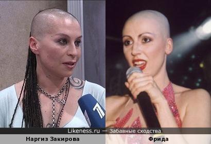 """Наргиз Закирова """"Голос"""" похожа на Фриду """"Полиция нравов"""""""