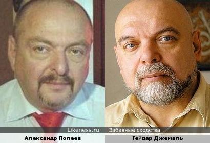 Александр Полеев и Гейдар Джемаль