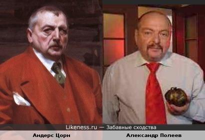 Андерс Цорн и Александр Полеев