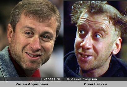 Роман Абрамович и Илья Баскин