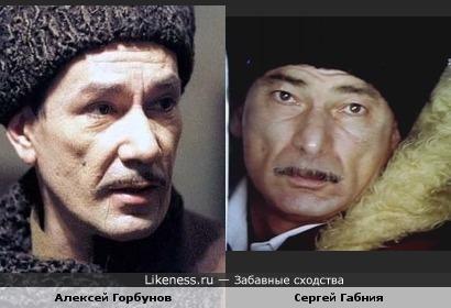Сергей Габния чем-то напомнил Алексея Горбунова.