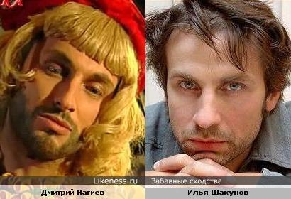 Дмитрий Нагиев и Илья Шакунов немного похожи. Попытка№2.