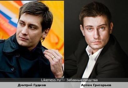 Депутат Дмитрий Гудков и актер Артем Григорьев.