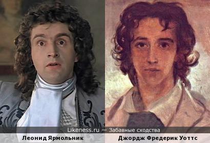 Автопортрет Джорджа Фредерика Уоттса напомнил Леонида Ярмольника.