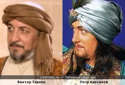 Петр Красилов в проекте Екатерины Рождественской и Виктор Тереля.