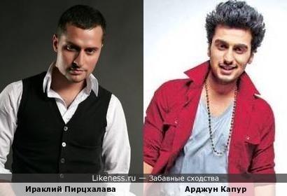 Ираклий Пирцхалава и Арджун Капур