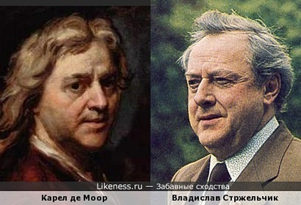 Владислав Стржельчик на автопортрете Карела де Моора