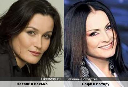 Наталия Васько немного напоминает Софию Ротару