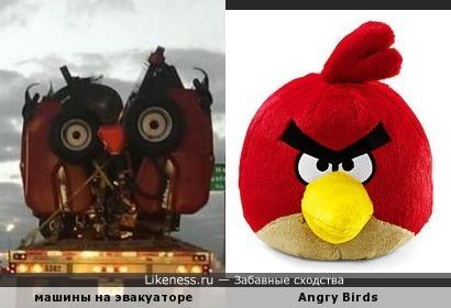 Метки angry birds злые птицы машины птицы