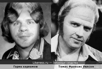 Кинопробы-Томас Ф. Уилсон и Гарик Харламов