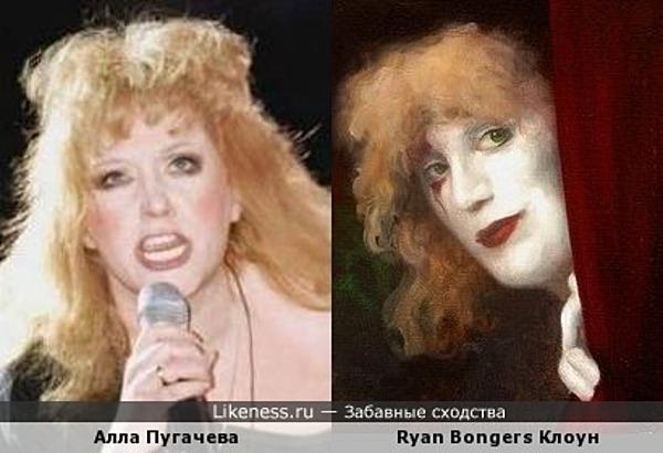 """Картина Ryan Bongers """"Клоун"""