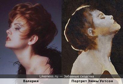 Портрет Эммы Уотсон напомнил Валерию