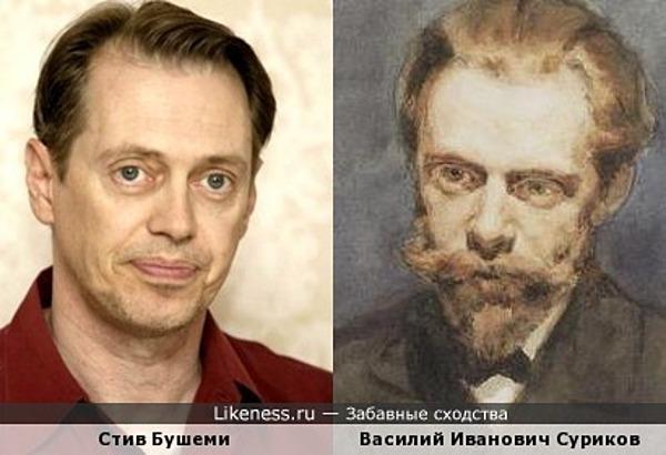 Автопортрет Василия Сурикова похож на Стива Бушеми