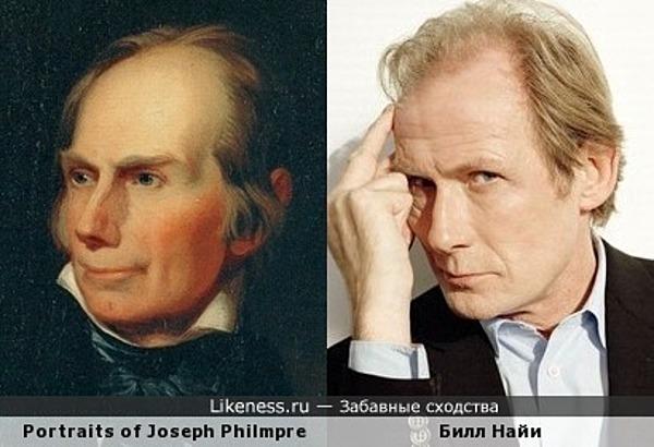 Портрет Джозефа Филипмора напомнил Билла Найи