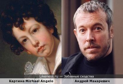 Андрей Макаревич на картине Michael Angelo