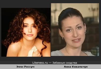 """Смотрела """"Послезавтра"""" и не могла отделаться от мысли, что Эмми Россум похожа на Ковальчук"""