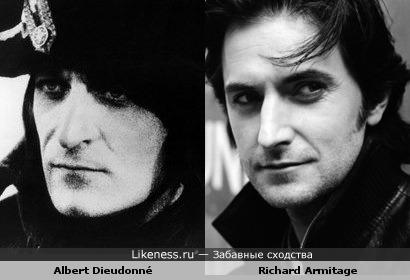 Альберт Дьедонне похож на Ричарда Армитэджа