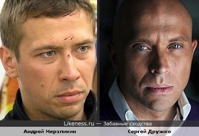 Сергей Дружко - бритый Мерзликин