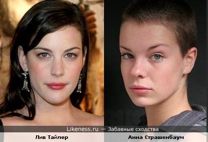 Анна Страшенбаум и Лив Тайлер