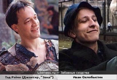 Иван Охлобыстин мне здесь напомнил Джоксера