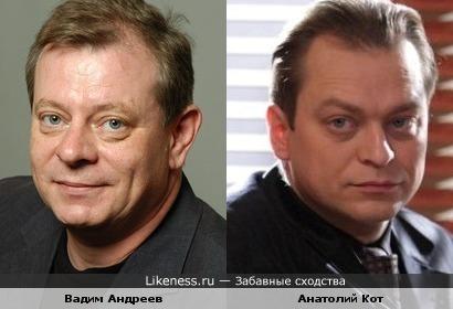 Подполковники Василюк и Шкалин похожи друг на друга