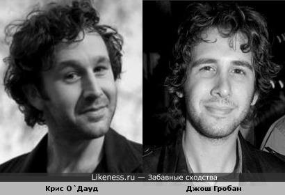 Крис О`Дауд и Джош Гробан