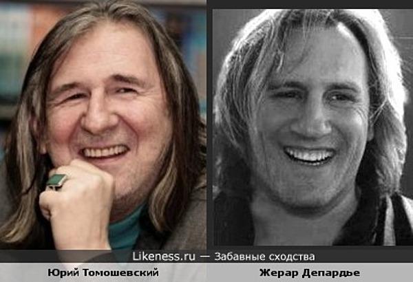 Юрий Томошевский напомнил на этом фото Депардье.