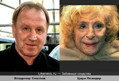 Владимир Стеклов и Цара Леандер: есть что-то родственное...
