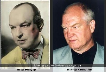 Французский и русский актеры