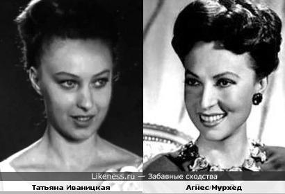 Татьяна Иваницкая напомнила актрису Агнес Мурхед