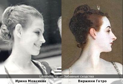 Ирина Моисеева напомнила мадам Икс (портрет работы Джона Сарджента)