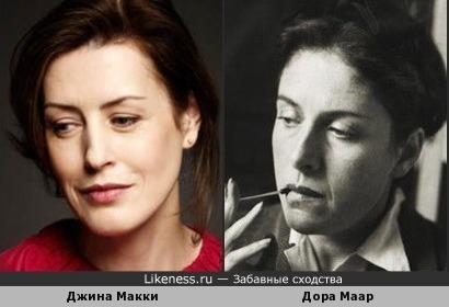 Джина Макки и Дора Маар
