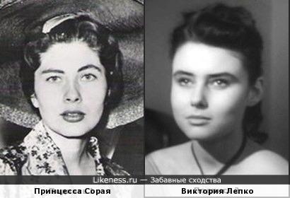 Сорая Асфандияри и Виктория Лепко