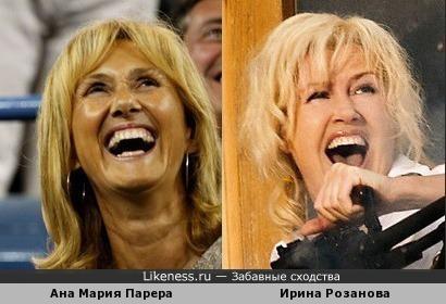 Мама Рафы Надаля и Ирина Розанова